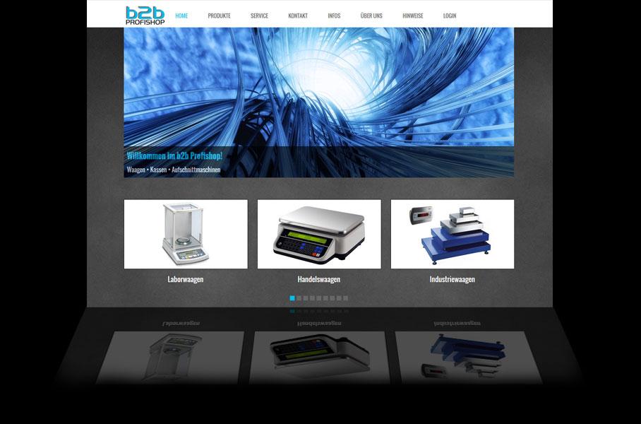 B2B Profishop - Webshopsystem